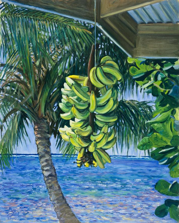 polynesia paintings regime de bananes. Black Bedroom Furniture Sets. Home Design Ideas